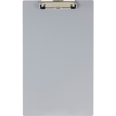 Officemate® Aluminum Clipboard, Legal Size, Silver, 9 x 15 1/2