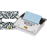 Post-it® Pop-Up Note Dispenser with Brocade Insert, 3 x 3, Each (DS330-BWB)