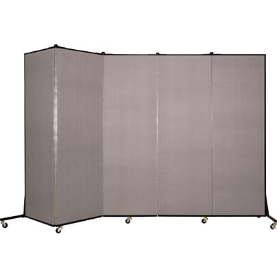 Screenflex® Light-Duty Portable Room Dividers; 65H x 95W, Light Gray