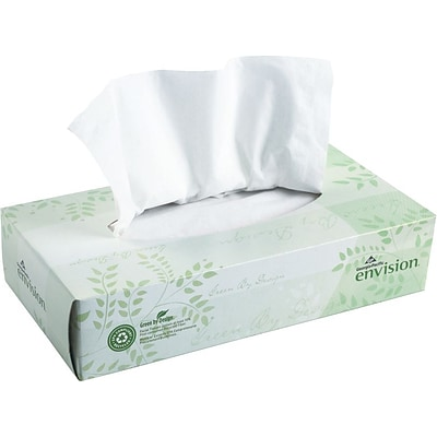 Envision 2 Ply Facial Tissue 30 Boxes Quill Com