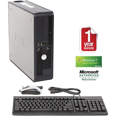 Dell™ Refurbished 755 Desktop PC; 2GB RAM, 750GB