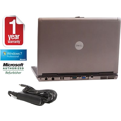 Dell Refurbished 14 Laptop D620 with Intel; 2GB RAM, 80GB Hard Drive, Win 10 Prof