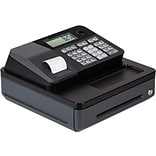 Casio® Cash Registers, Single Tape Thermal Unit with Built-in Rear Customer Display