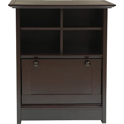 Comfort Products Coublo Collection; File Cabinet, Mocha Brown