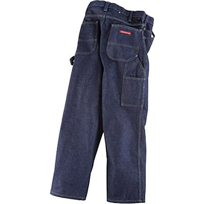 Dickies® 14 oz. Indura® Flame Resistant Carpenter Jeans, Denim, 40 x 30