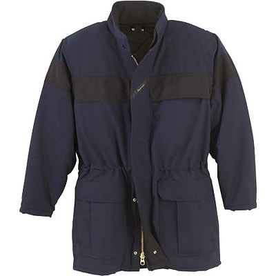Workrite® 7 oz. UltraSoft® Insulated Parka, Navy Blue, Small