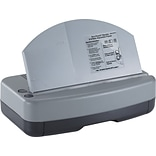 Officemate® 90115 Adjustable Electric 2-3 Hole Punch®, 30 Sheet/20 lb. Gray