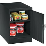 Tennsco® Black Single-Door Cabinet