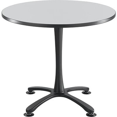 Safco®, Cha-Cha Table Top, Laminate, Round, 36 Diameter, Gray (2453GR)