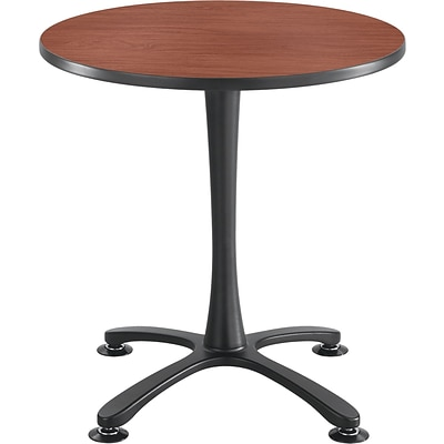 Safco®, Cha-Cha Sitting Height Table Base, X-Style, Steel, 29 High, Black (2461BL)