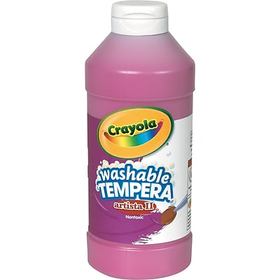 Crayola® Artista II® Washable Tempera Paint, Magenta, 16 oz.