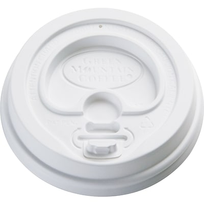 Green Mountain Coffee Roasters® Plastic Gourmet Domed Lid for Eco-Friendly Paper Hot Cups