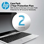 HP Care Pack 2-year Protection Plan with Accidental Damage and LoJack® Theft for HP Notebooks