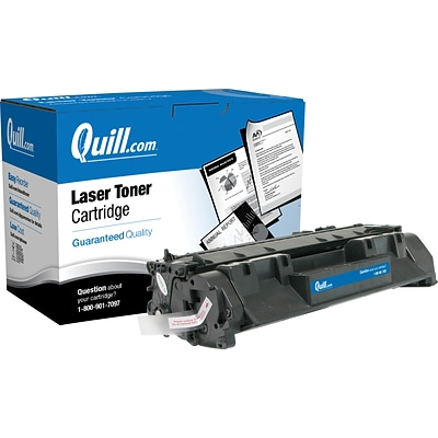 Quill Brand® HP 80 Remanufactured Black Laser Toner Cartridge, Standard Yield (CF280A) (Lifetime Warranty)