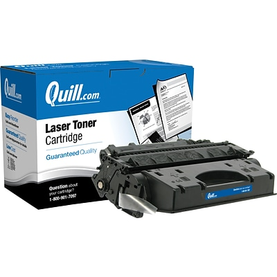 Quill Brand® HP 80 Remanufactured Black Laser Toner Cartridge, High Yield (CF280X) (Lifetime Warranty)