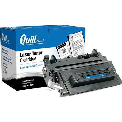 Quill Brand Remanufactured HP 90A (CE390A) Black Laser Toner Cartridge (100% Satisfaction Guarantee)