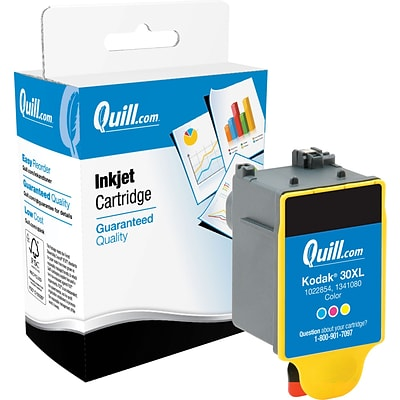 Quill Brand High Yield Ink Cartridge Comparable to Kodak® 30XL Tri-Color (100% Satisfaction Guaranteed)