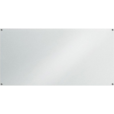 Lorell Glass Dry-Erase Board, Frost, 72