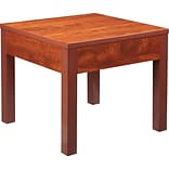 Lorell Occasional Corner Table, Cherry