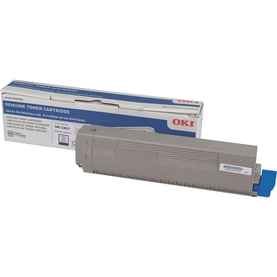 Okidata C831 Black Toner Cartridge (44844512)