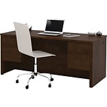 Double Pedestal Desk, Chocolate