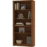 Bestar® Tuscany Brown 5-Shelf Bookcase