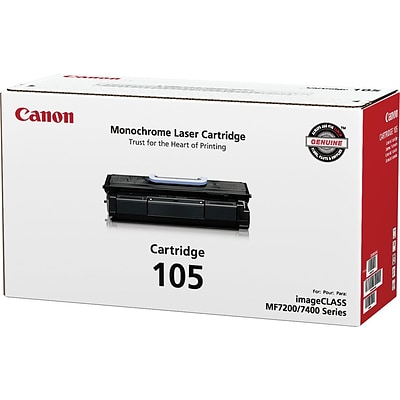 Canon 105 (0265B001AA) Black GENUINE Laser Toner Cartridge
