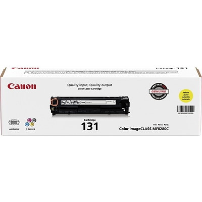 Canon 131 Yellow Toner Cartridge (6269B001AA)