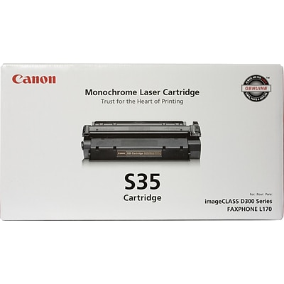 Canon S 35 Black Toner Cartridge, Standard (7833A001AA)