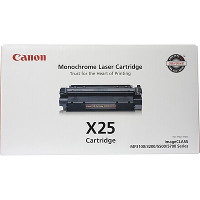 Canon X25 (8489A001AA) Black GENUINE Laser Toner Cartridge