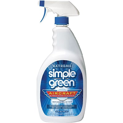 Extreme Simple Green® Aircraft and Precision Cleaner, 32 oz., 12 Bottles/Case