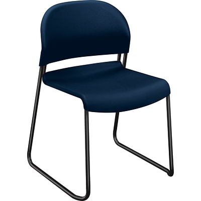 HON GuestStacker High-Density Stacking Chair; Regatta Shell