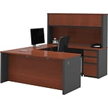U-Shape Workstation Kit With 2 Pedestals