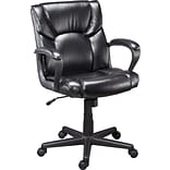 Quill Brand® Montessa II™ Luxura® Managers Chair, Black