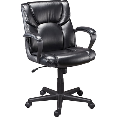 Quill Montessa II Luxura Managers Chair, Black