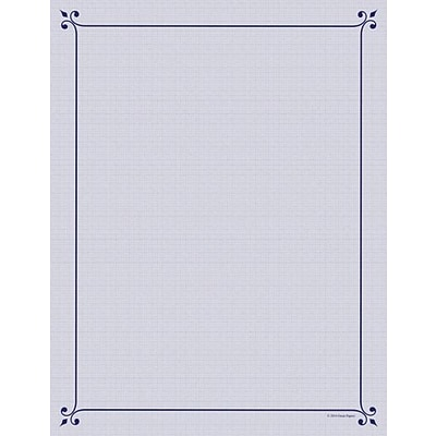 Great Papers® Corner Flourish Letterhead, 80/Pack