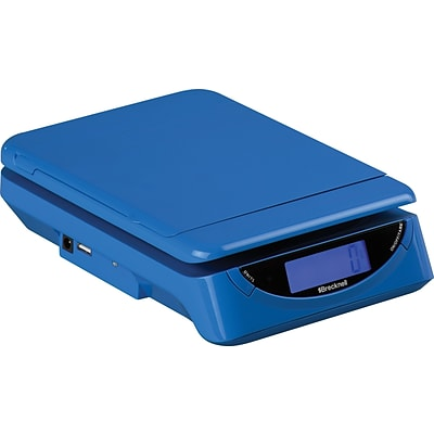 Brecknell 25 lb Electronic Postal Scale, Blue