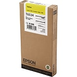 EPSON® T6534 UltraChrome HDR Yellow Ink (EPST653400)