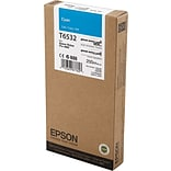 EPSON® T6532 UltraChrome HDR Cyan Ink (EPST653200)