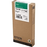 EPSON® T653B UltraChrome HDR Green Ink Cartridge (EPST653B00)