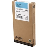 EPSON® T6535 UltraChrome HDR Light Cyan Ink (EPST653500)