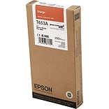 EPSON® T653A UltraChrome HDR Orange Ink (EPST653A00)