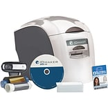IDville Small Business Edition ID Badge Printer Kit with Magnetic Encoding