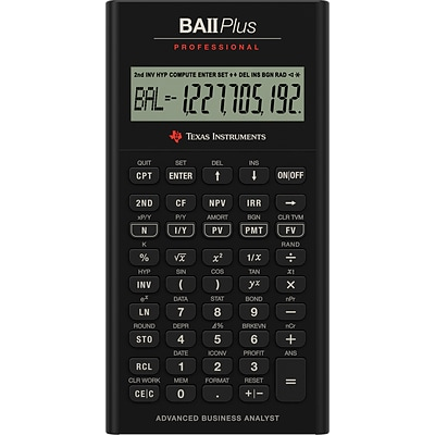 BAii Plus™ Financial Calculator | Quill.com