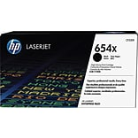 HP 654X ColorSphere Black Toner Cartridge (CF330X), High Yield