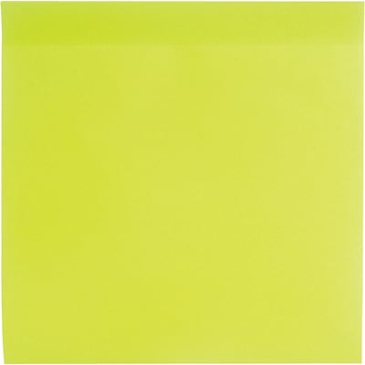 Poppin Jumbo Mobile Memos, Lime Green, 100 Sheets per Pad