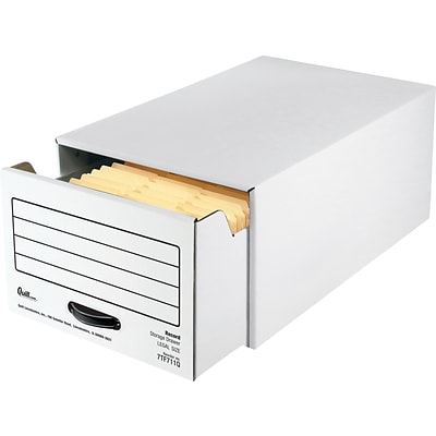 Quill Brand® Legal Size Storage Drawer with Metal Frame (Recycled), 6/Carton