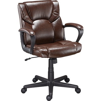 Quill Montessa II Luxura Managers Chair, Brown
