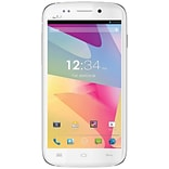 BLU Life One L120a Unlocked GSM Dual-SIM Cell Phone, White