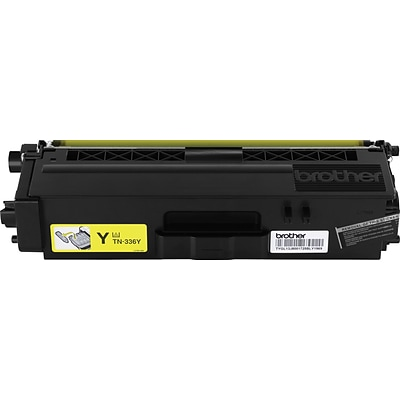 Brother Genuine TN336Y Yellow High Yield Original Laser Toner Cartridge
